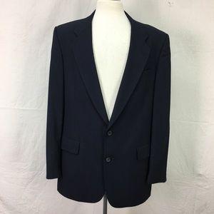 Christian Dior Navy 2 Button Blazer Sport Coat